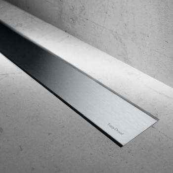 ESS Modulo Basic Zero+ Edelstahl gebürstet für Duschrinne: 90 cm