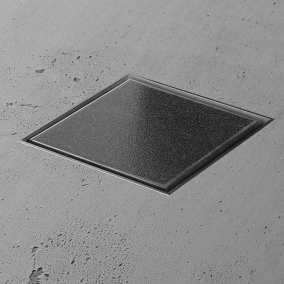 ESS Aqua Jewels Bodenablauf befliesbar, für Natursteinbeläge L: 10 B: 10 cm