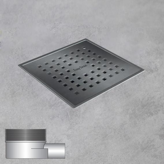 ESS Aqua Plus Quattro Bodenablauf inklusive Abdeckung L:15 B:15 cm, waagerecht