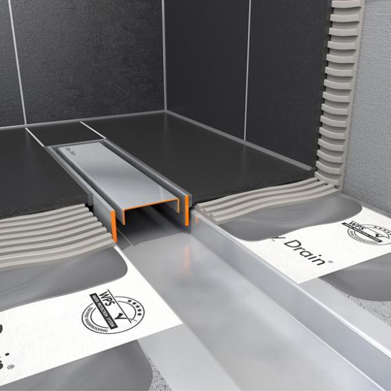 ESS Easy Drain Compact TAF inkl. höhenverstellbarer und drehbarer Abdeckung L: 80 cm