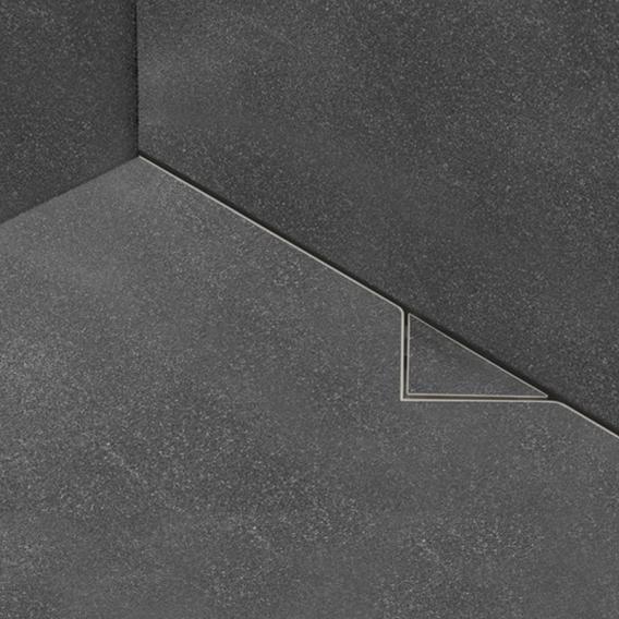 ESS Easy Drain S-line Fliesenrinne befliesbar, für Natursteinbeläge L: 120 cm