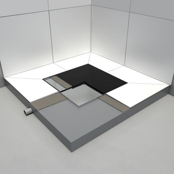 ESS Easy Drain Square Duschablauf L: 59,9 cm B: 59,9 cm