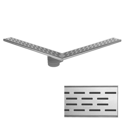 ESS Easy Drain Square Multi inklusive Abdeckung L: 90/90 cm