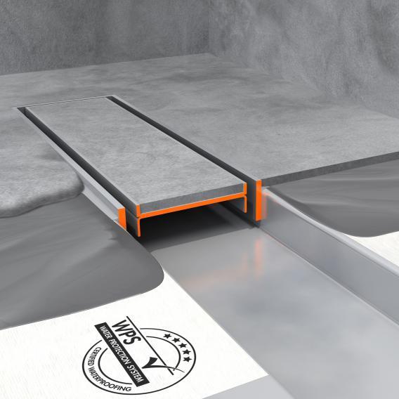 ESS Modulo TAF Low 50 Duschrinne inklusive Abdeckung befliesbar L: 70 cm, edelstahl gebürstet