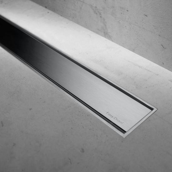 ESS Modulo TAF Low 50 Duschrinne inklusive Abdeckung Zero L: 100 cm, edelstahl gebürstet