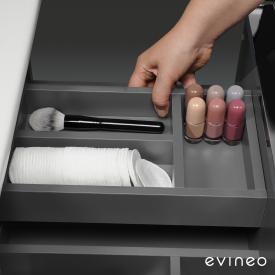 Evineo ineo Inneneinteilung für den oberen Auszug von Waschtischunterschränken