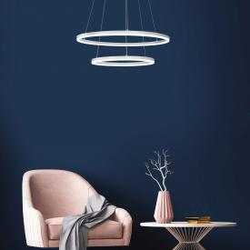 Fabas Luce Giotto LED Pendelleuchte, 2-flammig