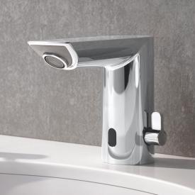 Grohe Bau Cosmopolitan E Infrarot-Elektronik für Waschtisch mit Mischung, mit Batterie ohne Ablaufgarnitur