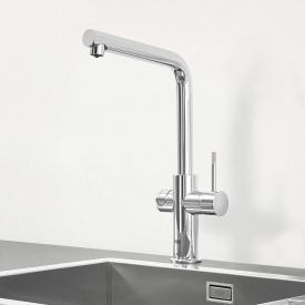 Grohe Blue Professional die NEUE Küchenarmatur mit Filterfunktion, L-Auslauf chrom