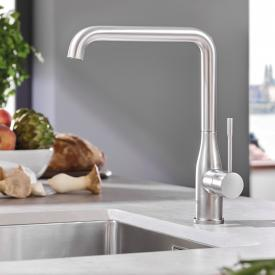 Grohe Essence Küchenarmatur supersteel
