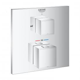 Grohe Grohtherm Cube Thermostat-Wannenbatterie mit 2-Wege-Umstellung für Rapido SmartBox