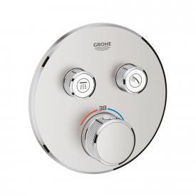 Grohe Grohtherm SmartControl Thermostat mit 2 Absperrventilen supersteel