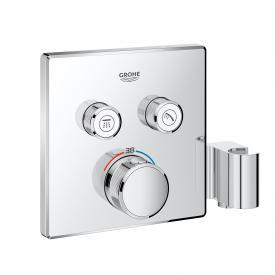 Grohe Grohtherm SmartControl Thermostat mit 2 Absperrventilen und integriertem Brausehalter