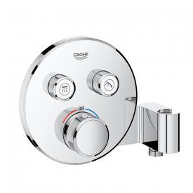 Grohe Grohtherm SmartControl Thermostat mit 2 Absperrventilen und integriertem Brausehalter chrom