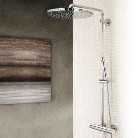 Grohe Rainshower System 400 Duschsystem mit Thermostatbatterie für die Wandmontage