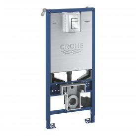 Grohe Rapid SLX Vorwandelement für WC, H: 113 cm, SET mit Drückerplatte