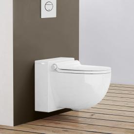 Grohe Sensia IGS Dusch-WC Komplettanlage für Unterputzspülkästen, Wandmontage, mit WC-Sitz weiß