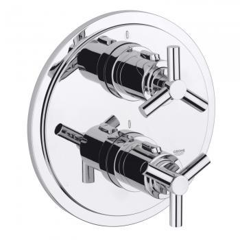 Grohe Atrio Thermostat-Brausebatterie mit Ypsilon-Griff, neue Version