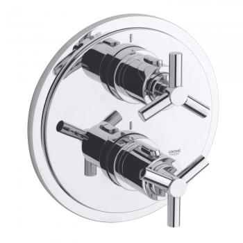 Grohe Atrio Thermostat-Wannenbatterie mit Ypsilon-Griff, neue Version