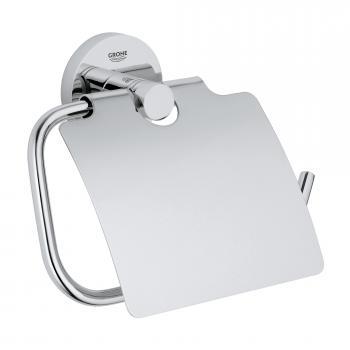 Grohe Essentials WC-Papierhalter mit Deckel chrom