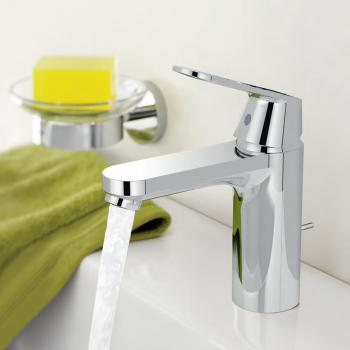 Grohe Eurosmart Cosmopolitan Einhand-Waschtischbatterie, M-Size mit Ablaufgarnitur