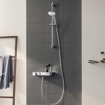Grohe Grohtherm SmartControl Thermostat-Brausebatterie mit Brausegarnitur, 600 mm