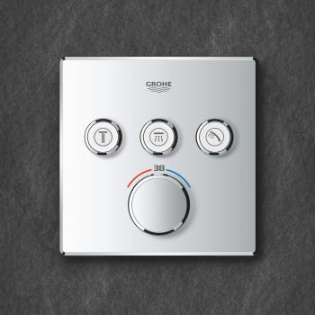 Grohe Grohtherm SmartControl Thermostat mit 3 Absperrventilen chrom