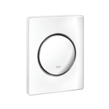 Grohe Nova Cosmopolitan Urinal-Betätigungsplatte weiß