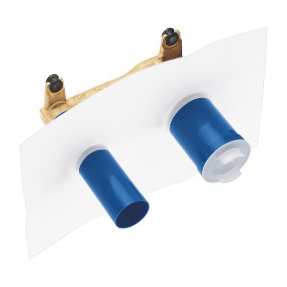 Grohe Essence 2-Loch-Waschtischbatterie mit Unterputz-Einbaukörper Ausladung: 230 mm, chrom