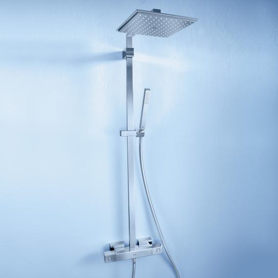 Grohe Euphoria Cube XXL System 230 Duschsystem mit Thermostatbatterie für die Wandmontage