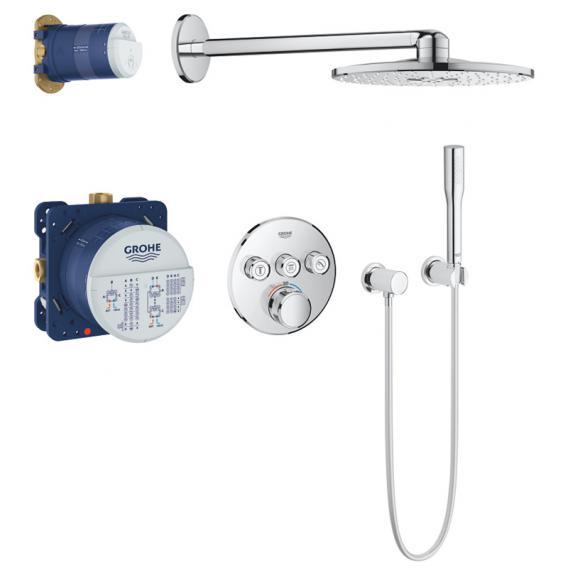 Grohe Grohtherm SmartControl Duschsystem Unterputz mit Thermostat & Rainshower 310 SmartActive