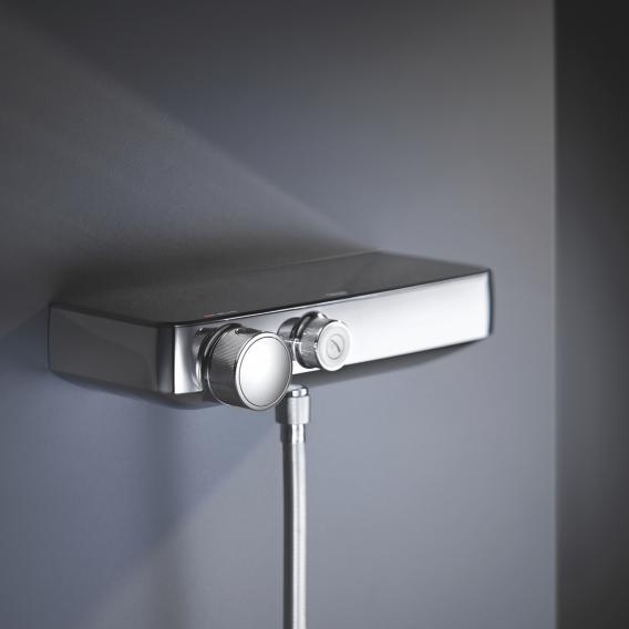 Grohe Grohtherm SmartControl Thermostat-Brausebatterie mit Brausegarnitur Höhe: 900 mm
