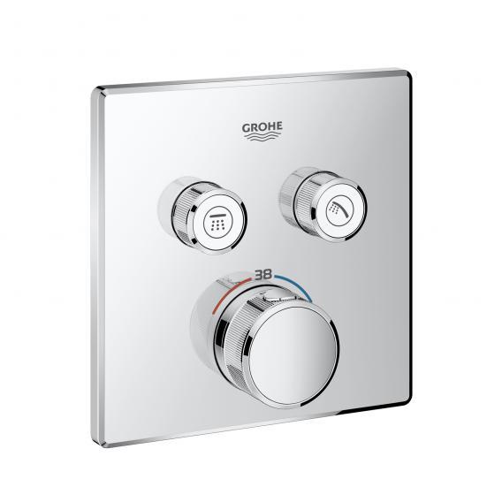 Grohe Grohtherm SmartControl Thermostat mit 2 Absperrventilen chrom