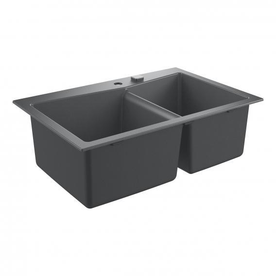 Grohe K700 Einbauspüle granitgrau