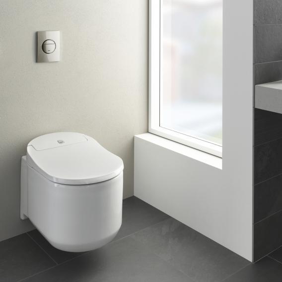 Grohe die NEUE Sensia Arena Dusch-WC Komplettanlage für Unterputzspülkästen, Wandmontage, mit WC-Sitz weiß