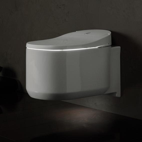 Grohe die NEUE Sensia Arena Dusch-WC Komplettanlage für Unterputzspülkästen, Wandmontage, mit WC-Sitz weiß, mit Montagezubehör & Installationsset