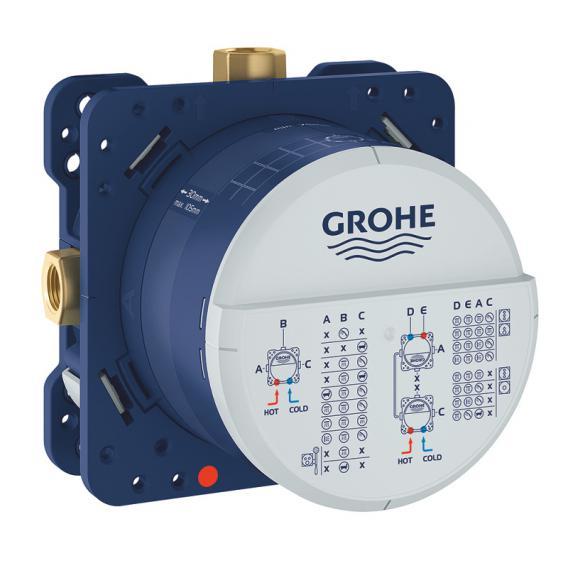 Grohe SmartControl Duschsystem mit Mischer & Rainshower 310 SmartActive Cube Kopfbrause