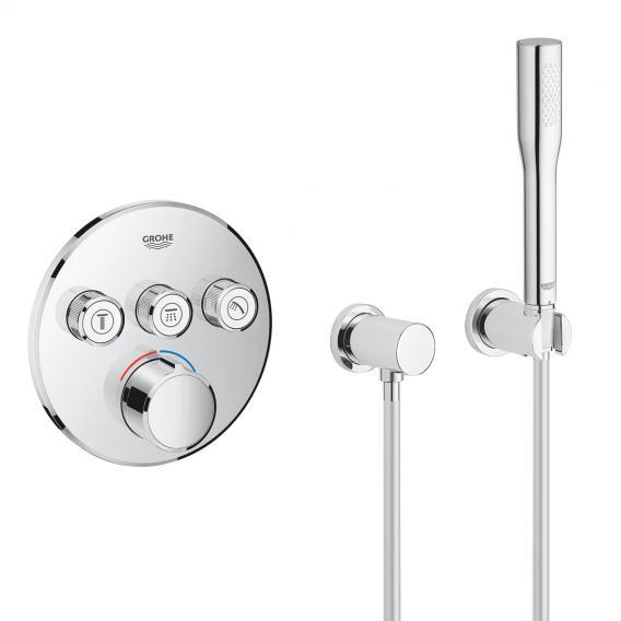 Grohe SmartControl Duschsystem mit Mischer & Rainshower 310 SmartActive Kopfbrause