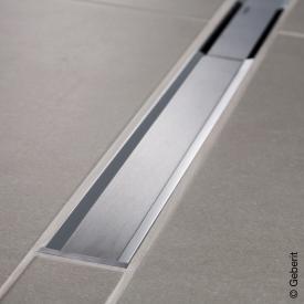 Geberit CleanLine 20 Duschrinne edelstahl poliert / edelstahl gebürstet, für Duschrinne: 30 - 130 cm