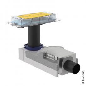 Geberit CleanLine Duschrinnen Rohbauset für Fußbodenaufbauhöhe ab 90mm
