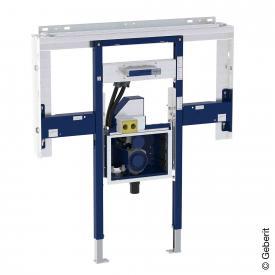 Geberit Duofix Element für ONE Waschtisch und ONE Wandarmatur raumhoch, mit UP-Drehgeruchsverschluss und Clou B: 125 cm