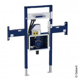 Geberit Duofix Element für ONE Waschtisch und Wandarmatur teilhoch, mit UP-Drehgeruchsverschluss und Clou B: 125 cm
