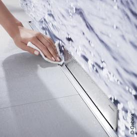 Geberit Kollektorprofil zu Geberit Wandablauf für Dusche für Duschrinne: 150 cm