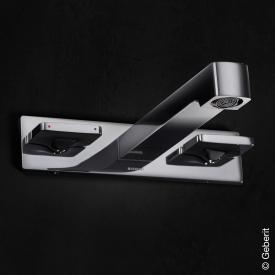 Geberit ONE 3-Loch Waschtisch-Armatur für Wandmontage, für Unterputz-Funktionsbox Ausladung: 180 mm