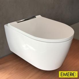 Geberit ONE Wand-Tiefspül-WC weiß/chrom, mit KeraTect