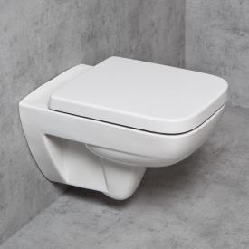 Geberit Renova Plan & Tellkamp Premium 2000 WC-SET: WC mit Spülrand, mit KeraTect, WC-Sitz mit Absenkautomatik