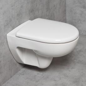 Geberit Renova & Tellkamp Premium 3000 Wand-WC-SET: WC ohne Spülrand, WC-Sitz mit Absenkautomatik