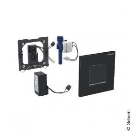 Geberit Typ 30 Urinalsteuerung mit elektr. Spülung, berührungslos, Netzbetrieb schwarz