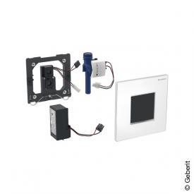 Geberit Typ 30 Urinalsteuerung mit elektr. Spülung, berührungslos, Netzbetrieb weiß