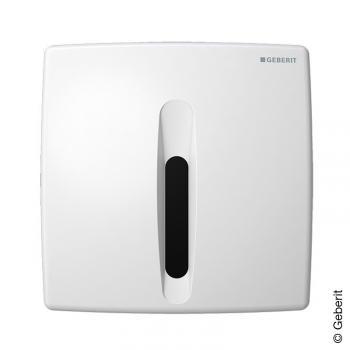 Geberit HyBasic Urinalsteuerung, berührungslos, IR/Netz weiß alpin